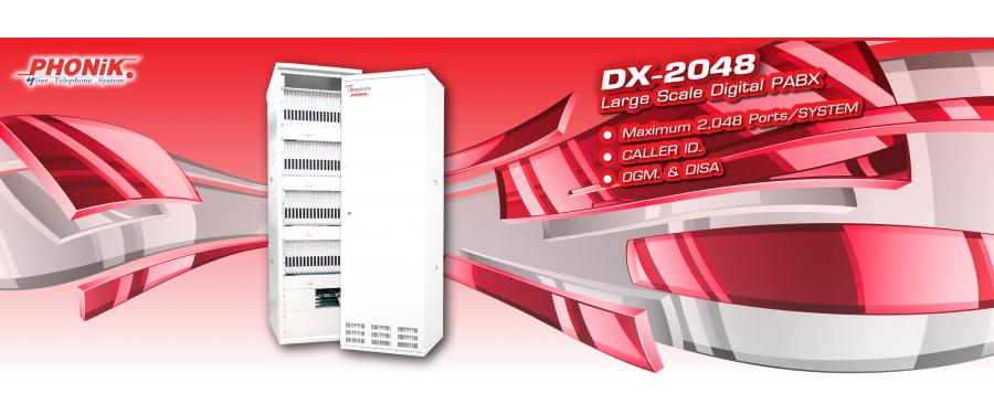 PHONIK DX-2048 IP-PBX